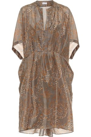 Brunello Cucinelli Exclusive to Mytheresa – Printed silk dress