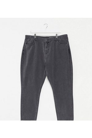 Noisy May Curve mom jeans in black