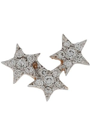 Kismet By Milka 14kt Struck Triple Star diamond stud