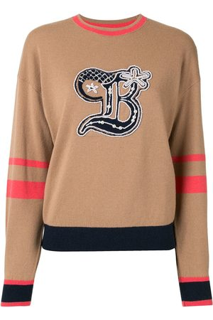 BAPY BY *A BATHING APE® Women Sweaters - Colour-block embroidered jumper