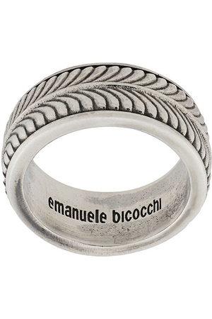EMANUELE BICOCCHI Engraved band ring