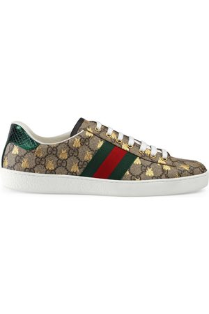 Gucci Men Sneakers - Men's Ace GG Supreme bees sneaker