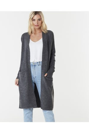 Everly Collective Toronto Long Cardigan - Jumpers & Cardigans (Dark ) Toronto Long Cardigan