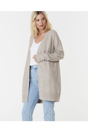 Everly Collective Women Cardigans - Brooklyn Short Cardigan - Jumpers & Cardigans (Chai) Brooklyn Short Cardigan