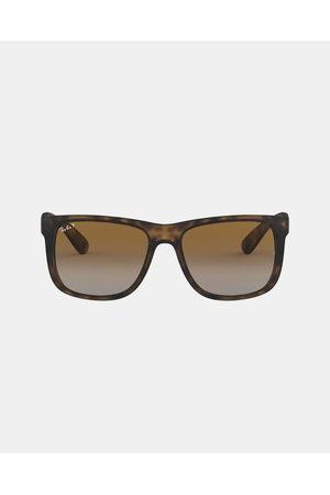 Ray-Ban Sunglasses - Justin International Polarised RB4165 - Sunglasses (Havana Rubber) Justin International Polarised RB4165