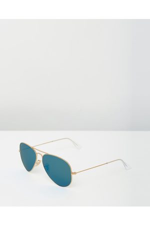 Ray-Ban Aviator Mirror Polarised RB3025 - Sunglasses (Polarised Solid Colour Mirror ) Aviator Mirror Polarised RB3025