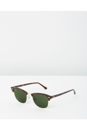 Ray-Ban Clubmaster Classic RB3016 - Sunglasses (Solid Colour ) Clubmaster Classic RB3016