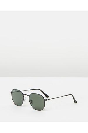 Ray-Ban Hexagonal Flat Lens Polarised RB3548N - Sunglasses ( & Polar ) Hexagonal Flat Lens Polarised RB3548N