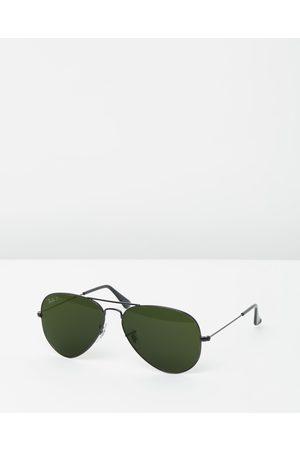 Ray-Ban Aviator Classic RB3025 - Sunglasses (Polarised Solid Colour ) Aviator Classic RB3025