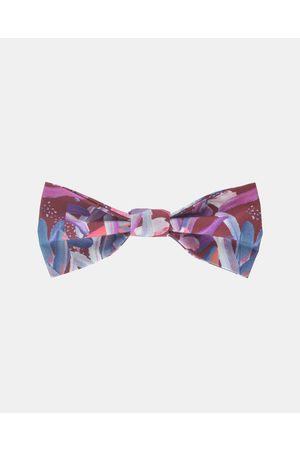 Peggy and Finn Protea Bow Tie - Ties & Cufflinks (Burgundy) Protea Bow Tie