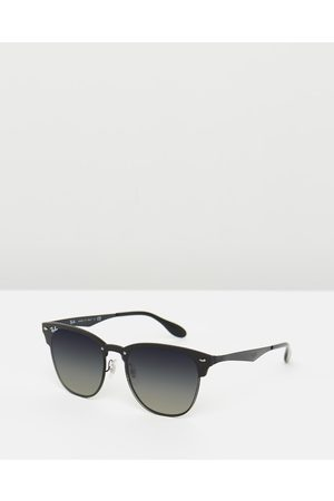 Ray-Ban Blaze Clubmaster RB3576N - Sunglasses ( & Gradient Dark ) Blaze Clubmaster RB3576N