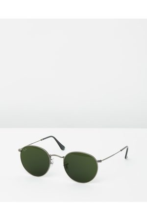 Ray-Ban Round Metal RB3447 - Sunglasses (Solid Colour ) Round Metal RB3447