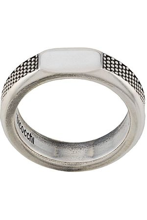 EMANUELE BICOCCHI Textured band ring