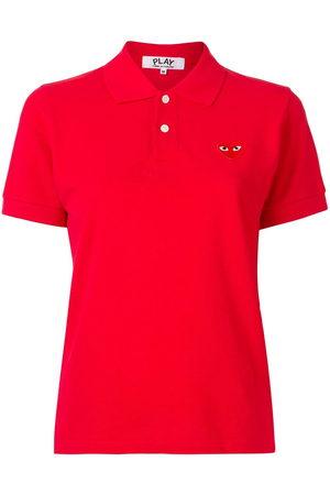 Comme des Garçons Signature piqué polo shirt