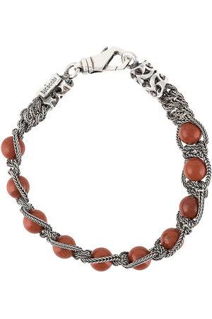 EMANUELE BICOCCHI Beaded braided-chain bracelet