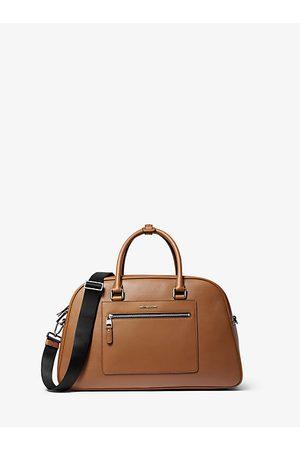 Michael Kors Mens Hudson Pebbled Leather Bag