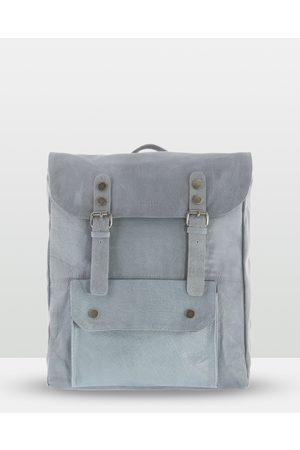 Cobb & Co Wentworth Soft Leather Backpack - Bags (Mist) Wentworth Soft Leather Backpack