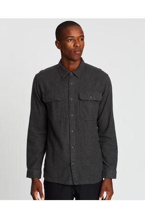 Patagonia Long Sleeve Fjord Flannel Shirt - Casual shirts (Forge ) Long Sleeve Fjord Flannel Shirt