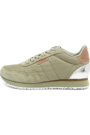 Woden Nora2 Wu Dusty Olive Sneakers Womens Shoes Casual Sneakers