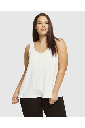 Bamboo Body Relaxed Bamboo Singlet - T-Shirts & Singlets Relaxed Bamboo Singlet