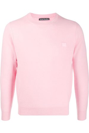 Acne Studios Wool face patch jumper