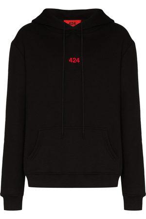 424 FAIRFAX Logo-embroidered hoodie