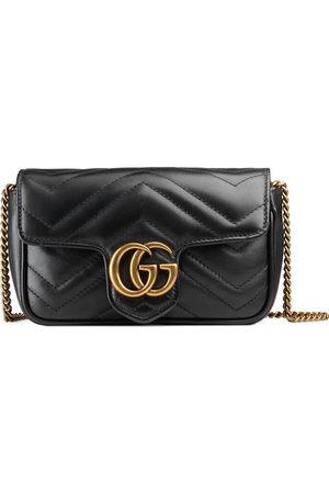 Gucci Women Handbags - GG Marmont matelassé leather super mini bag