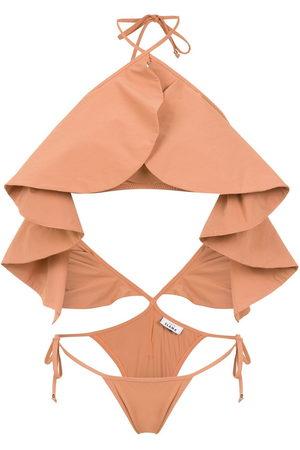 Amir Slama Women Swimsuits - Ruffled swimsuit