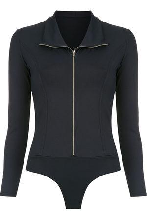 AMIR SLAMA Zip bodysuit