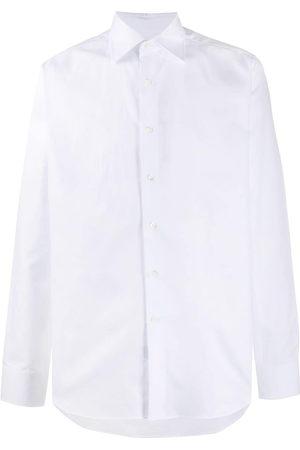 CANALI Buttoned cotton shirt