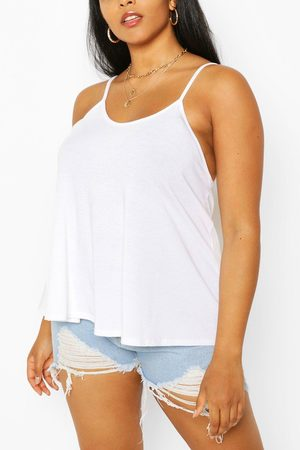 Boohoo Plus Recycled Basic Strappy Top
