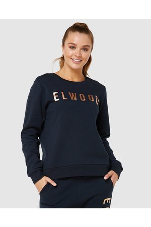 Elwood Huff N Puff Crew - Sweats (Navy/ ) Huff N Puff Crew