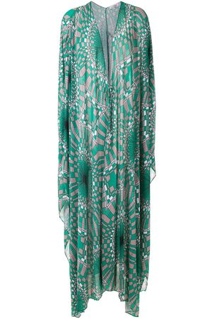 AMIR SLAMA Women Beachwear - Printed oversized kaftan