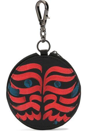 YOHJI YAMAMOTO Tribal-print coin purse