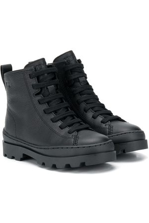 Camper Brutus leather boots