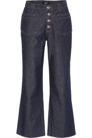 A.P.C High-rise kick-flare jeans