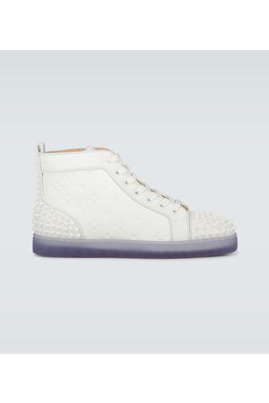 Christian Louboutin Lou Spikes II leather sneakers