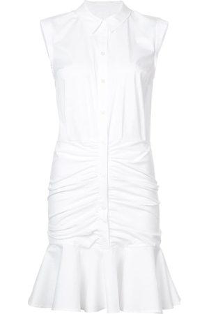 Veronica Beard Women Casual Dresses - Frill-trim shirt dress