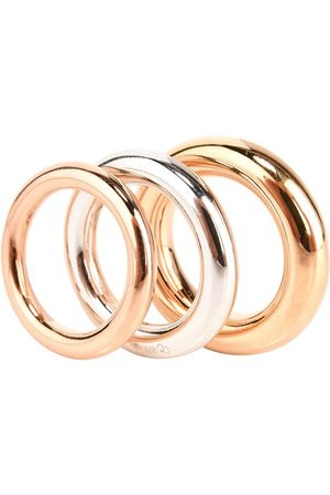 CHARLOTTE CHESNAIS Women Rings - Brahma rings (set of three)