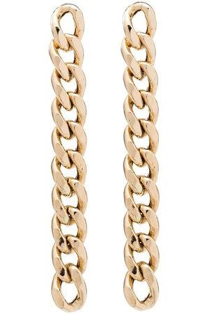 Zoe Chicco 14kt gold chain drop earrings