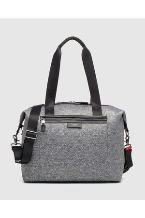 storksak Stevie Luxe Scuba Nappy Bag - Bags ( Marle) Stevie Luxe Scuba Nappy Bag