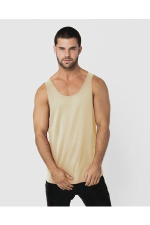 ONEBYONE Classic Blank Singlet - T-Shirts & Singlets (Sand) Classic Blank Singlet