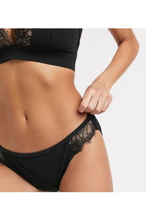 Wolf & Whistle Fuller Bust Exclusive hipster bikini bottom with lace in