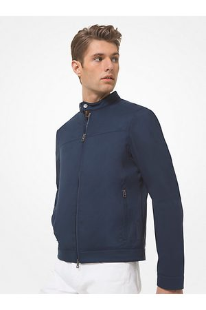 Michael Kors Mens MK Tech Racing Jacket - Midnight - Michael Kors