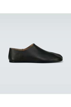 Maison Margiela Men Loafers - Tabi Babouche leather loafers