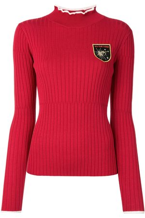 BAPY BY *A BATHING APE® Women Sweaters - Ribbed embroidered jumper