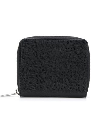 Maison Margiela Men Wallets - Zip-around grainy leather wallet