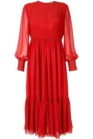 Karen Walker Pleated waist midi dress