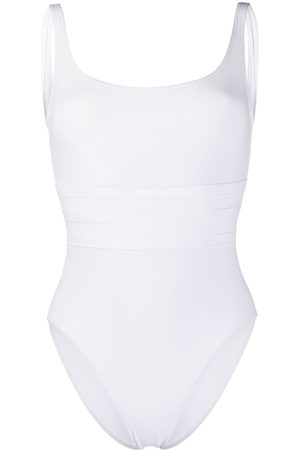 ERES Stitched panel swimsuit