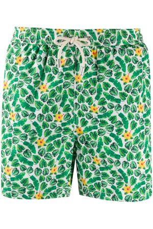MC2 SAINT BARTH Summer Flower-print swim shorts